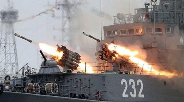 태평양 함대는 대 잠수함 작전 훈련을 실시했다